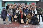 Odwiedziny uczniów z Francji