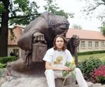 Wizyta łotewskiego rzeźbiarza